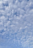 Beautiful puffy clouds. Beautiful white puffy clouds on blue sky Stock Images