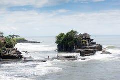 Beautiful Pura Luhur Tanah Lot Temple in Bali Stock Image