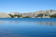 Beautiful pure blue water lake Stock Photos