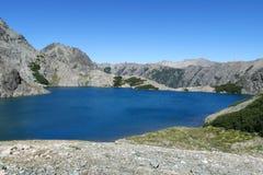 Beautiful pure blue water lake Royalty Free Stock Image
