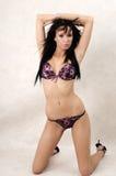Beautiful in purple Royalty Free Stock Photo