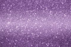 Purple background. Beautiful purple background of sparkles with reflections and bokeh stock illustration