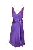 Beautiful purple dress Royalty Free Stock Image