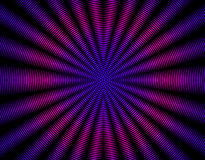 Beautiful purple pink  rays abstract interference pattern - back Royalty Free Stock Photography