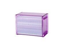 Beautiful Purple Plastic Cd Or Dvd Box Stock Photo