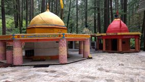 Beautiful pyaro garhwal Tarakeswar tample royalty free stock images