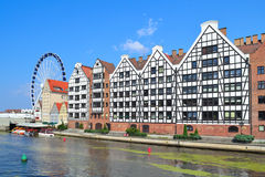 Beautiful quay in Gdansk Royalty Free Stock Images