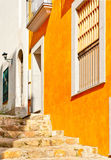 Beautiful quiet street, Spain Royalty Free Stock Photos