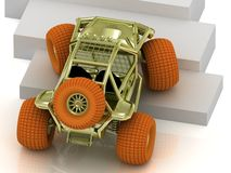 Beautiful Radio-controlled model buggy Stock Image