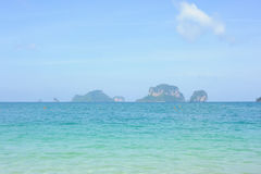 Beautiful Railay Beach in Krabi Thailand Royalty Free Stock Photos