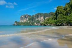 Beautiful Railay beach Stock Photography