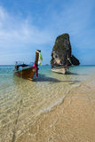 Beautiful Railay beach. Krabi, Thailand Stock Photo