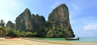 Beautiful Railay beach in Krabi Thailand Stock Images