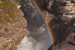 Beautiful rainbow royalty free stock image