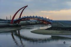 The beautiful Rainbow Bridge at Yuanli royalty free stock photos