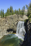 The beautiful Rainbow Fall. Of Devils Postpile National Monument Stock Photos
