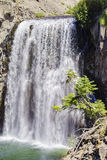 The beautiful Rainbow Fall. Of Devils Postpile National Monument Stock Image