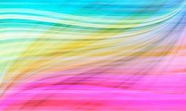 Beautiful rainbow pattern background Stock Image