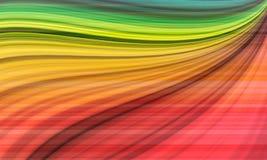 Beautiful rainbow pattern background Stock Photo