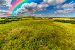 Beautiful rainbow in the sky Royalty Free Stock Photography