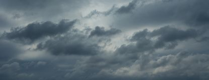 Beautiful rainy clouds, no birds, no noise. Beautiful rainy clouds. Professional shoot, no birds, no noise stock photography