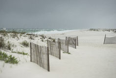 Beautiful rainy day at Florida Beach Stock Image