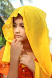 Beautiful Rajasthani girl Stock Images
