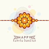 Beautiful rakhi for Raksha Bandhan celebration. Royalty Free Stock Photo