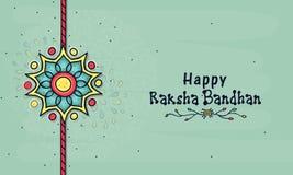 Beautiful rakhi for Raksha Bandhan celebration. Royalty Free Stock Photos