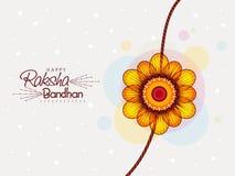 Beautiful rakhi for Raksha Bandhan celebration. Stock Photos