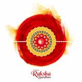 Beautiful Rakhi for Raksha Bandhan celebration. Royalty Free Stock Images