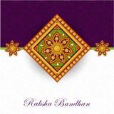 Beautiful rakhi for Raksha Bandhan celebration. Royalty Free Stock Photo