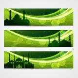 Beautiful Ramadan Headers Royalty Free Stock Photos