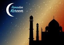Beautiful ramadan kareem background. Royalty Free Stock Photos