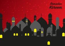 Beautiful ramadan kareem background Stock Photography