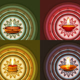 Beautiful Rangoli ornament Pattern  Royalty Free Stock Images