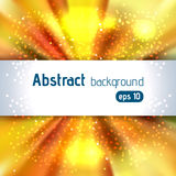 Beautiful rays of light. Shiny eps 10 background. Colorful radial radiant effect. Vector illustration stock illustration