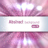 Beautiful rays of light. Shiny eps 10 background. Pink, white colors. Colorful radial radiant effect. Vector illustration vector illustration