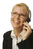 Beautiful Receptionist Royalty Free Stock Image
