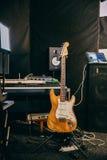 Beautiful recording studio Royalty Free Stock Photos