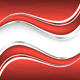Beautiful red background. Vector Illustration Royalty Free Stock Photo
