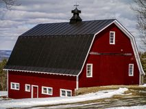 Red Barn Agricultural building Royalty Free Stock Images