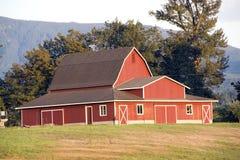 Beautiful red barn Royalty Free Stock Image