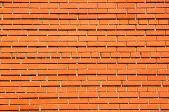 Beautiful Red brick street wall texture background. Red brick street wall texture background with copy space Royalty Free Stock Images