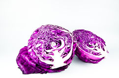 Beautiful red cabbage Stock Photo