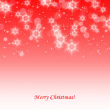 Beautiful red Christmas background Stock Photo