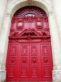 Beautiful Red Doors stock photos