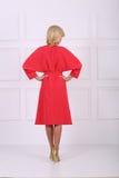 Beautiful red dress Royalty Free Stock Image