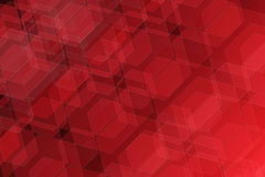 beautiful red geometry background Stock Image