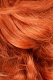 Beautiful red hair as a background Royalty Free Stock Photo